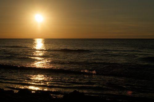 polnische Ostsee_sundown