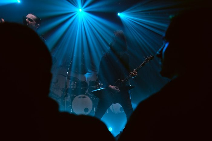 "Satyricon live in Dresden Gitarrist Diogo ""Yogy"" Bastos"